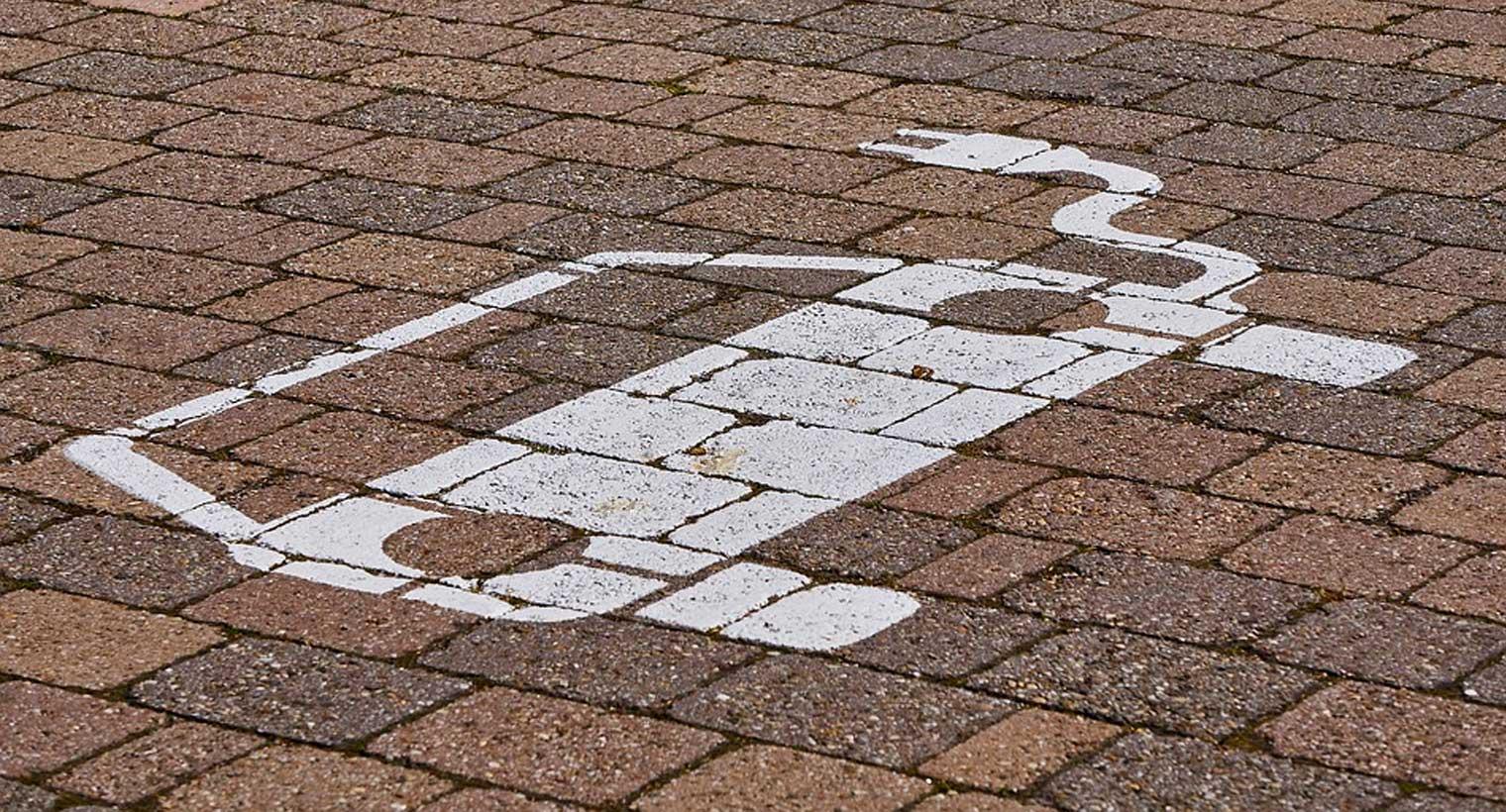 Dibujo parking coche eléctrico